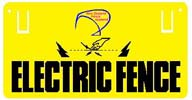 0070-NZFS - Electric Fence Sign - NZFS Logo