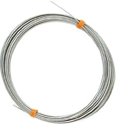 "0651-SS-FT - 1/16"" 1x19 strand stainless steel lite cable, per foot"