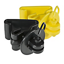 5062 - ZAREBA ITPL-Z T-Post Pinlock Insulator, Black or Yellow