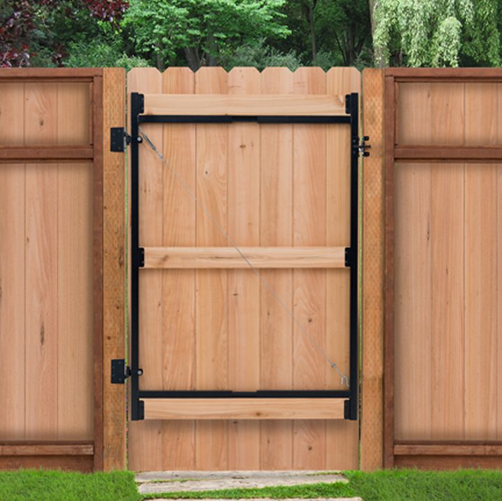 "AG 36 - 36""-60""W X 45""H GATE, 2 RAIL"